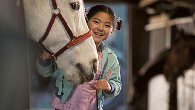 Ebbie Tam in de film Het paard van Sinterklaas. Beeld