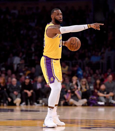 James verliest ook derde wedstrijd met LA Lakers