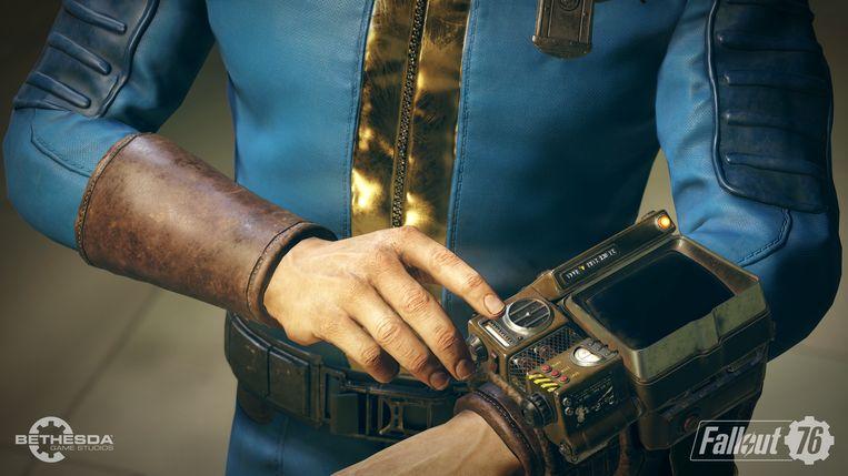 Screenshot uit het binnenkort verwachte 'Fallout 76'.