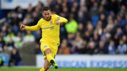 LIVE. Na de assist, de goal: Hazard krijgt op z'n eentje Brighton klein