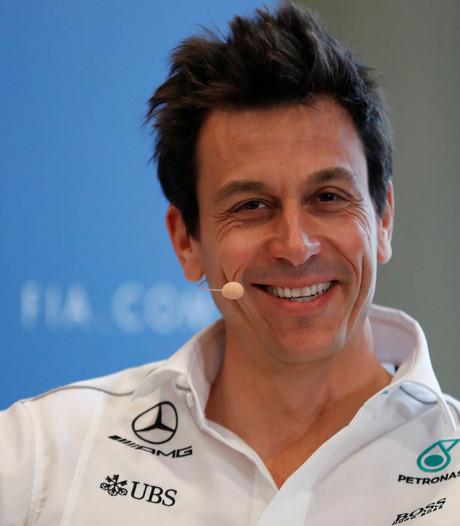 Wolff voorspelt strijd tussen Mercedes, Ferrari en Red Bull in 2018
