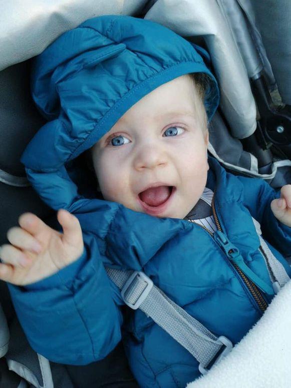 Matteo werd geboren met een hartafwijking.