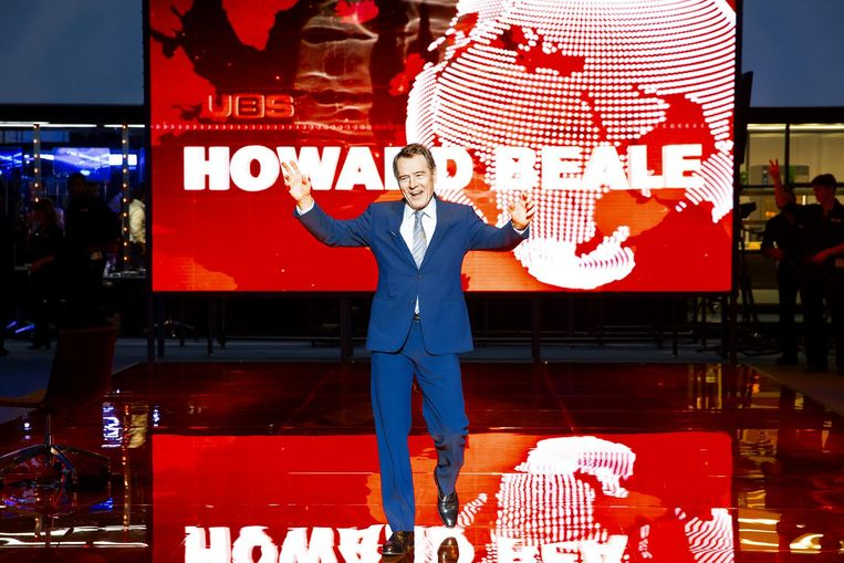 Bryan Cranston in Network. Beeld Jan Versweyveld
