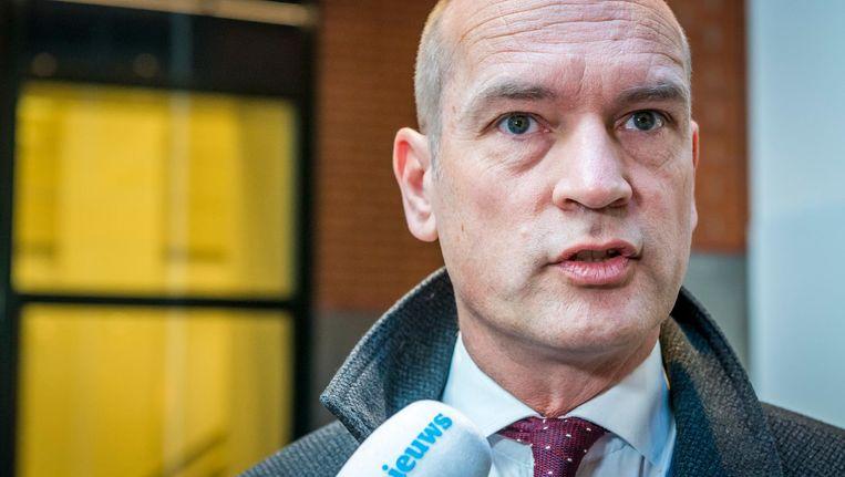 'Onze vrijheid is niet bestemd voor mensen met oliedollars die onze vrijheid om zeep willen helpen,' benadrukt Gert Jan Segers (CU). Beeld anp