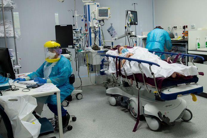 Ilustratiebeeld: foto genomen in het ziekenhuis AZ Groeninge
