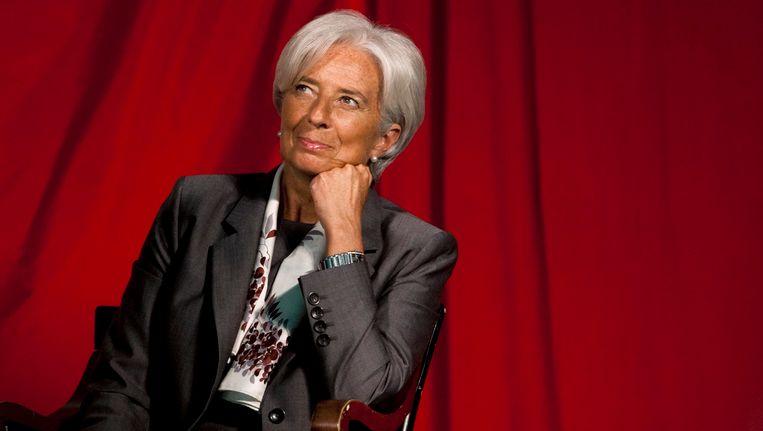 Christine Lagarde Beeld REUTERS