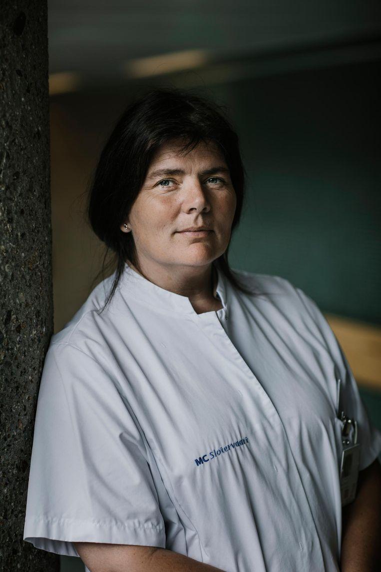 Geriater Linda Tulner: 'Mantelzorgers houden het vaak heel lang vol.' Beeld Marc Driessen