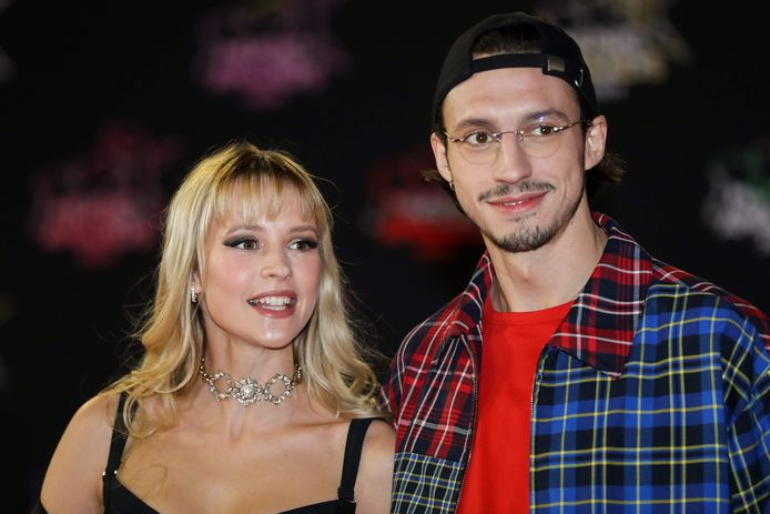 Angèle et son frère, le rappeur Roméo Elvis.