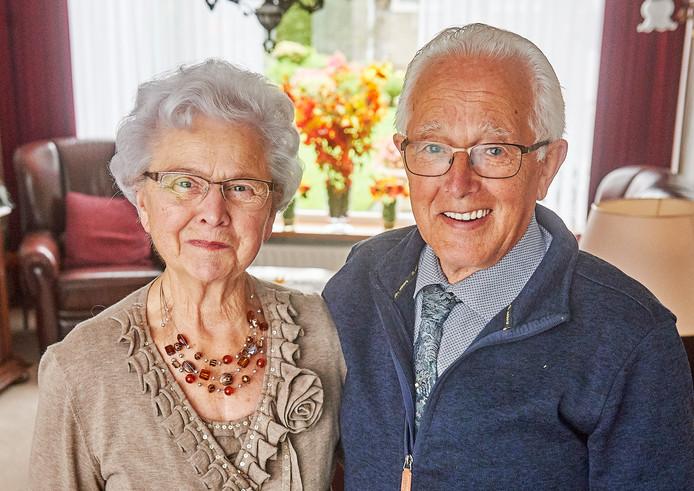 Diamanten paar Emmy- en Wim van Leur- van der Leest uit Oss.Fotograaf: Van Assendelft/Jeroen Appels