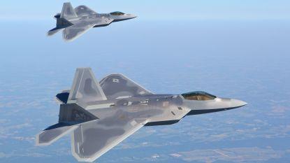 Amerikaanse F-22's trainen met geallieerde luchtmachten in Europa