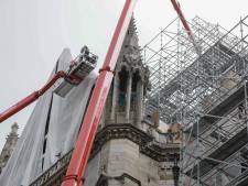 """Fin du démontage de l'échafaudage abîmé de Notre-Dame de Paris """"avant fin septembre"""""""