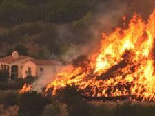 Het brandt nog steeds in Californië