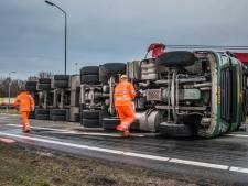 Botsing op E19 in België noopt reizigers om via Bergen op Zoom naar Nederland te rijden