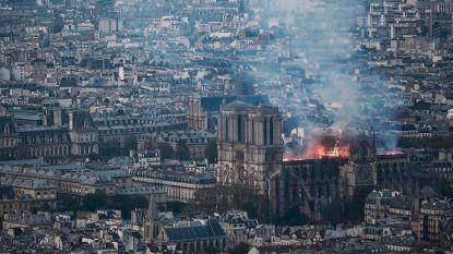 """Notre-Dame ontving tot nu 104 miljoen van de beloofde 900 miljoen euro """"betaald door 350.000 schenkers"""""""