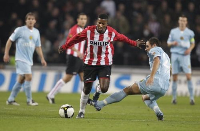 PSV heeft voor het eerst dit seizoen een thuiswedstrijd in de competitie verloren. Roda JC, tot zaterdag nog zonder overwinning, was met 3-2 te sterk. ANP Photo