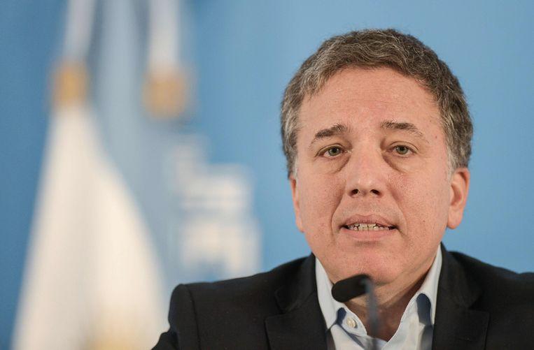 De Argentijnse minister van Financiën Nicolas Dujovne heeft zijn ontslag ingediend.