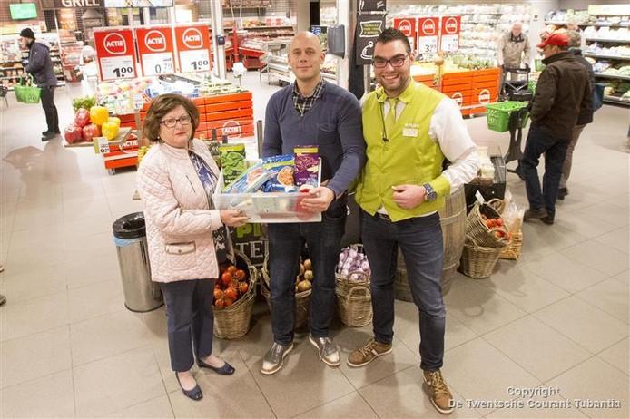 Marianne Muller, Pieter Stam en Rob Cornelis.