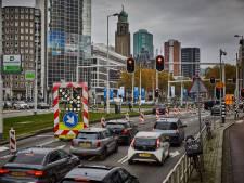 Verkeersdrukte in Rotterdam: november is echt de beroerdste maand
