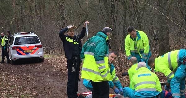 Motorcrosser verongelukt in bosgebied van Valkenswaard.
