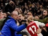 Ajax op de valreep onderuit tegen Real