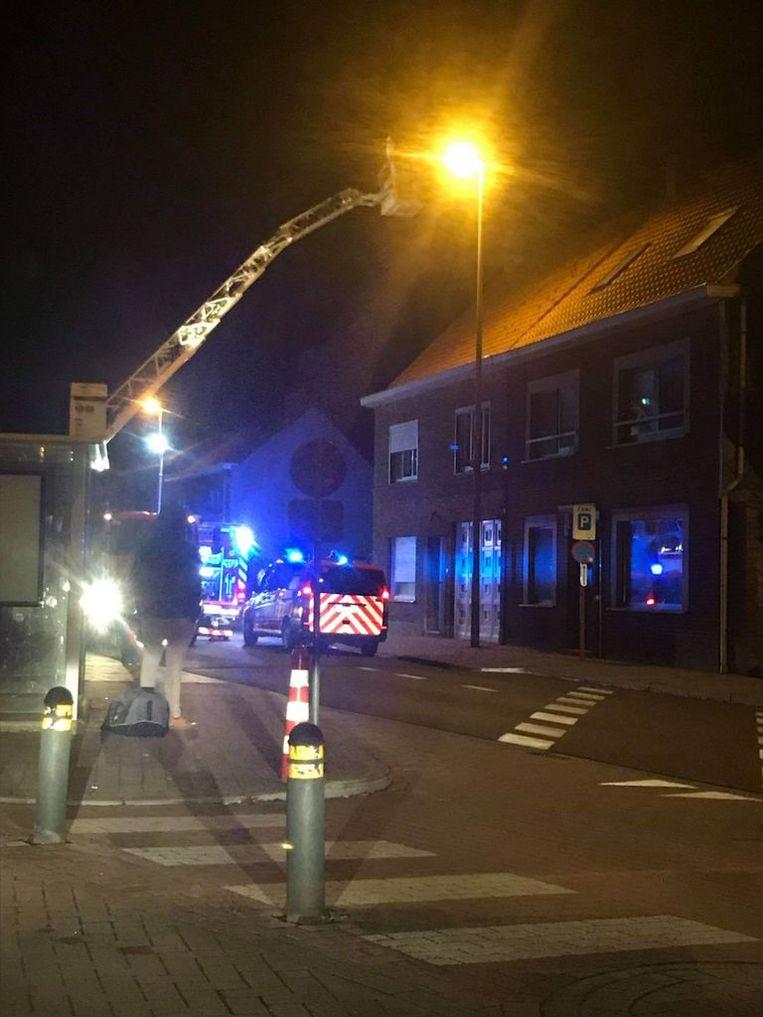 De brand brak vorig jaar uit in de woning langs de Bruggestraat.