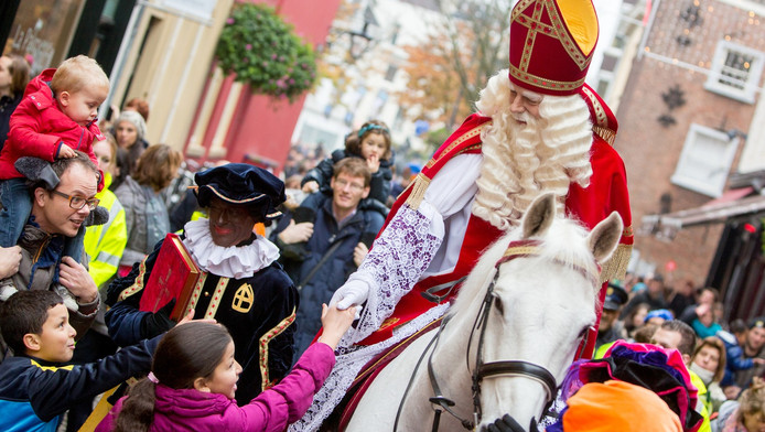 De intocht van Sinterklaas in Utrecht vorig jaar.