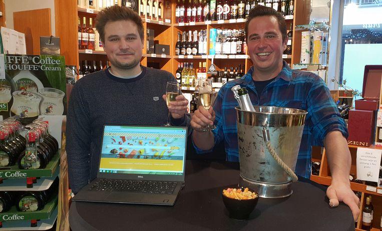 Juha Trombini (links) van Beedrop en Philippe Van Zande van 't Klaverblad.
