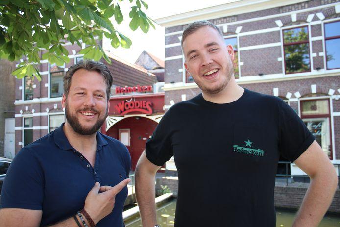 Henk-Jan Viskaal (links) en Niels van der Pijl. Archieffoto.