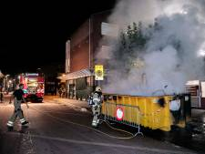 Veel rook bij brand in Westervoortse bouwcontainer