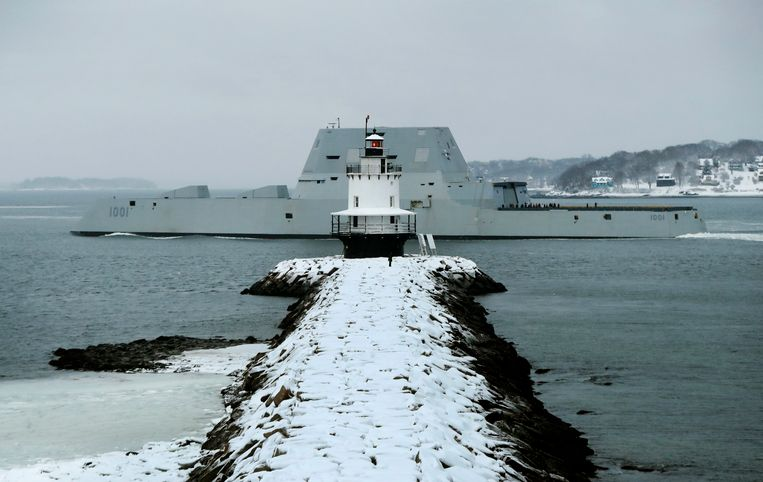 De USS Michael Monsoor.