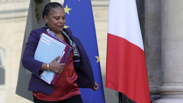 Christiane Taubira in december vorig jaar. Beeld reuters