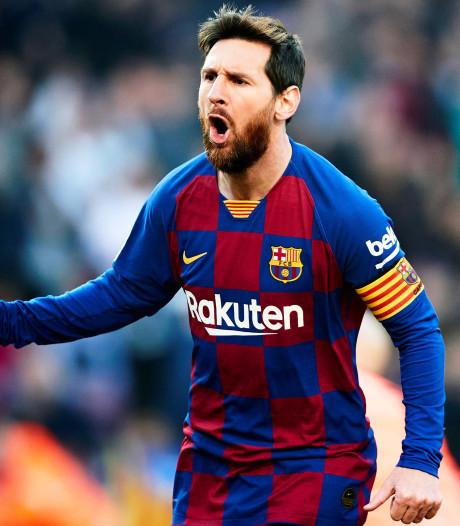 Messi weet het net weer te vinden, en hoe: vier goals tegen Eibar