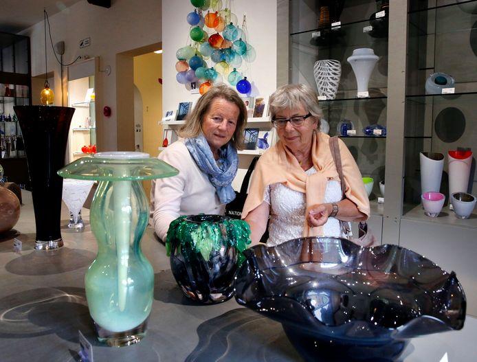 Het Glasmuseum - hier op archiefbeeld - zit aan de Lingedijk.