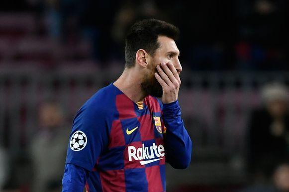 De veelzeggende reactie van Leo Messi meteen na afloop van de wedstrijd.