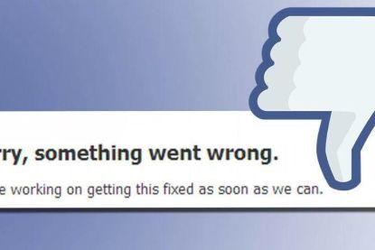Problemen met Facebook in grote delen van Europa