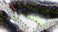 Dorpscentrum wordt groener en verkeersluwer