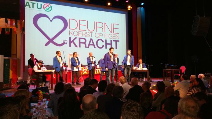 Prinsengarde in Deurne.