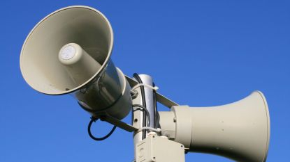Geen nood: luide sirenes vandaag zijn tests