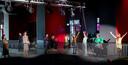 Koningin Maxima bij het optreden van Women Connected.