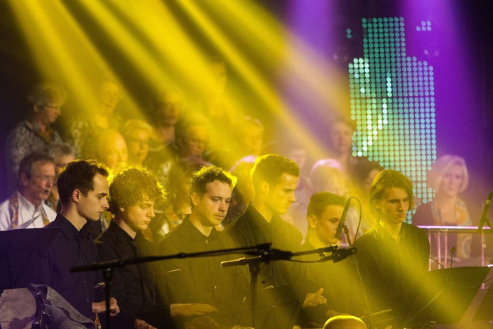 Tijdens 'Musique Spectaculaire' kon iedere geleding van muziekvereniging De Poort van Brabant schitteren in een programma vol variatie. foto kees martens/fotomeulenhof