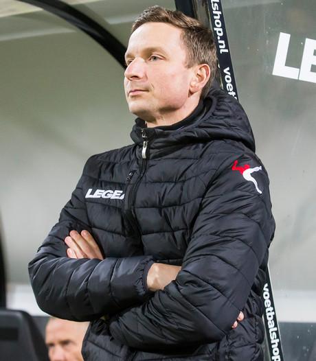 NEC schittert bij debuut coach Lijnders