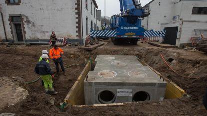 Reusachtige put van 30 ton tegen wateroverlast