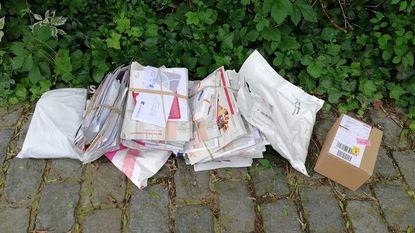 Brieven en pakjes van vier straten op oprit bij gebrek aan postzak