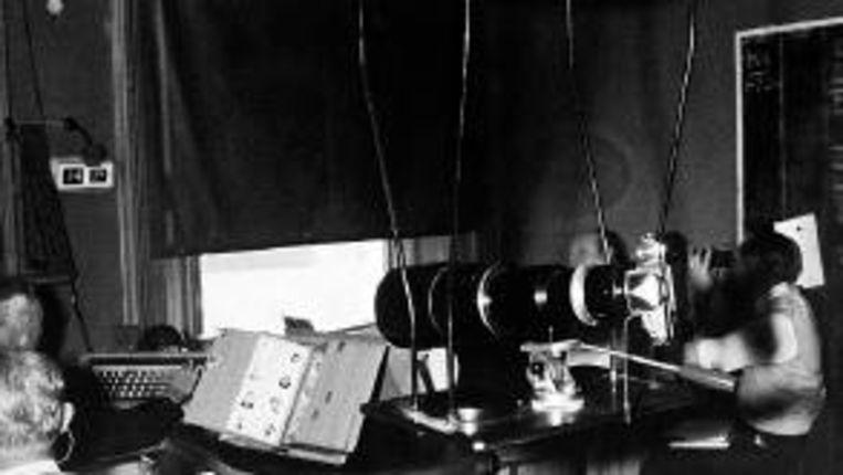 Een observatiepost van MI5 in het begin van de jaren zeventig. (FOTO REUTERS) Beeld