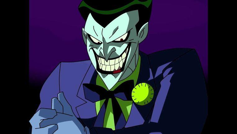 De geanimeerde Joker, ingesproken door Mike Hamill Beeld