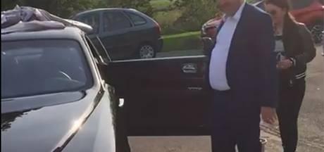 Peperdure Rolls Royce Phantom voor jarige Salar Azimi