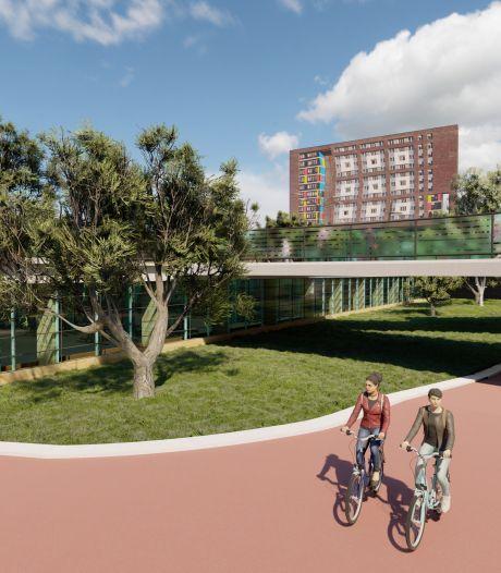 Nijmegenband helpt ook nu weer bij voor nieuwe stationszone