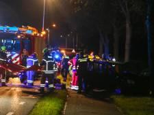 Automobiliste (60) om het leven gekomen bij botsing tegen boom in Papendrecht