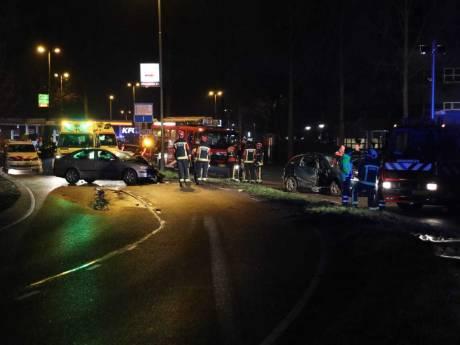 Drie gewonden bij botsing op Goudse Poort in Gouda