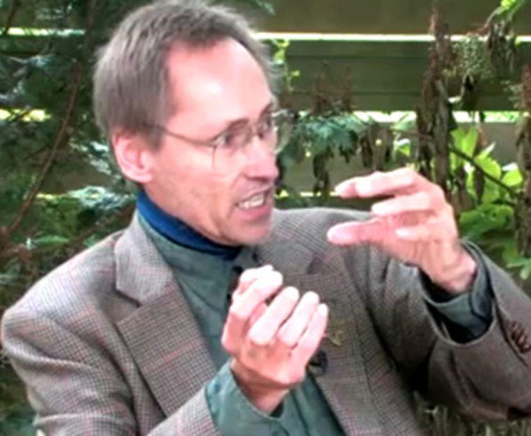 Patrick Geryl. Beeld uit een YouTube-video. Beeld